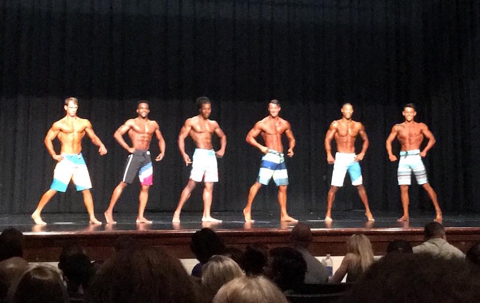 Bodybuilding Contest Lineup