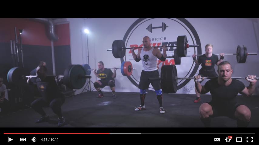 Screenshot from 5 Minute Squat Battle