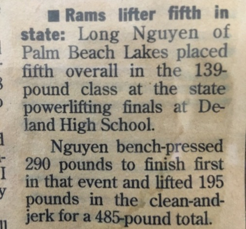 Weightlifting finals