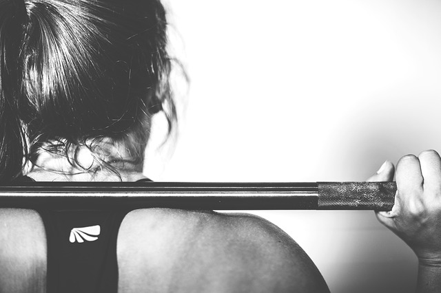 Woman With a Barbell